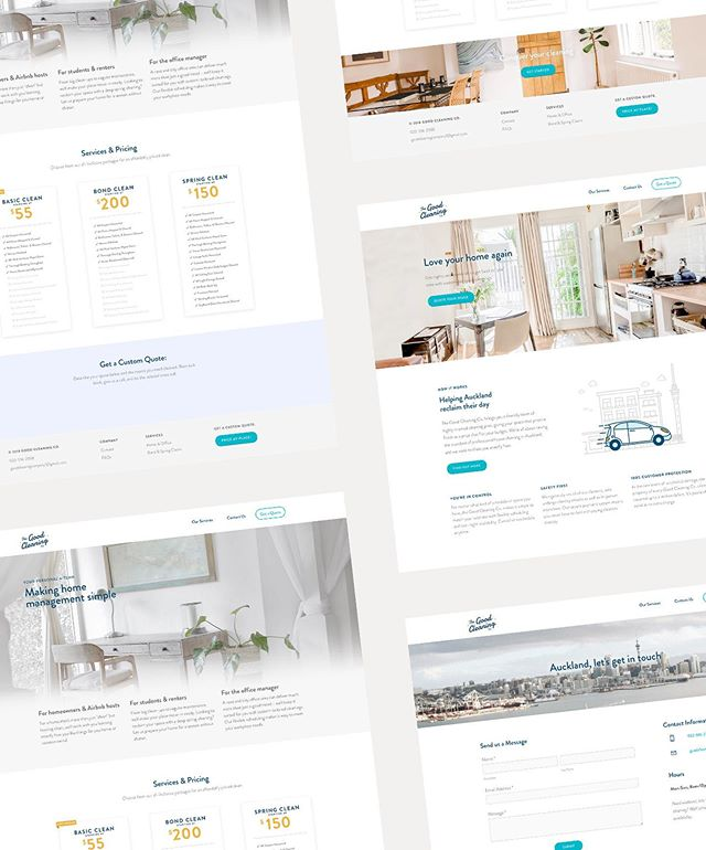 Making the final UX tweaks for an Auckland-based cleaning team that makes turning over your Airbnb or abode oh-so-easy. Not long till this new website launches 🚀 . . . . #design #digitaldesign #sofreshandsocleanclean #visualdesign #graphicdesign #artdirection #visuallanguage #designfeed #thedesignfix #airbnb #auckland #brand #minimum #webdesign #airbnbphoto #inspofinds #visualidentity #uidesign #ux #vsljrnl #typography #visualgraphc #getbacktodesign