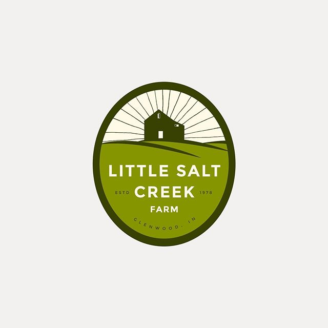 Sometimes the vision for who you'd like to be as a business crystalizes along the way, much like this unused concept for Little Salt Creek. The onion-inspired sunrise felt a little more quirky beer label than what the Little Salt Creek brand required, but it'll shine on forever in our hearts... That's why each project begins with a deeep dive into your business psyche, where we interrogate you with a bright lamp and Adobe Illustrator until the inspired you is translated through design. It's an intense process, but we promise everyone comes out alive.🤞🏻 #logo #illustration #logodesign #designinspiration #welovebranding #graphicdesign #visualgraphc #branddesigner #identitydesign #doitfortheprocess