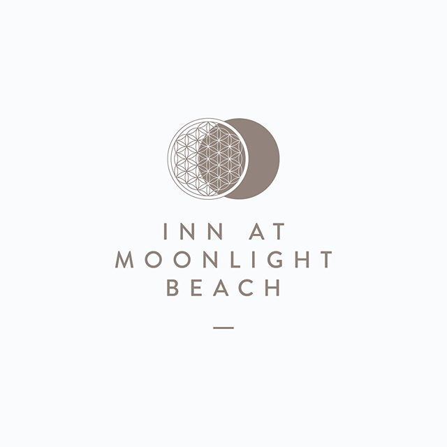 Throwback to this logo design for Inn at Moonlight Beach, a boutique inn in southern California. The landmark B&B has been beautifying hearts and bellies since the 1990s, and we worked with them to give their brand a facelift 🌜✨ . #branding#logo #logos #logodesignlovers #logoawesome #graphicdesign#design#identitydesign#print #printdesign#minimalism#designinspo #typography