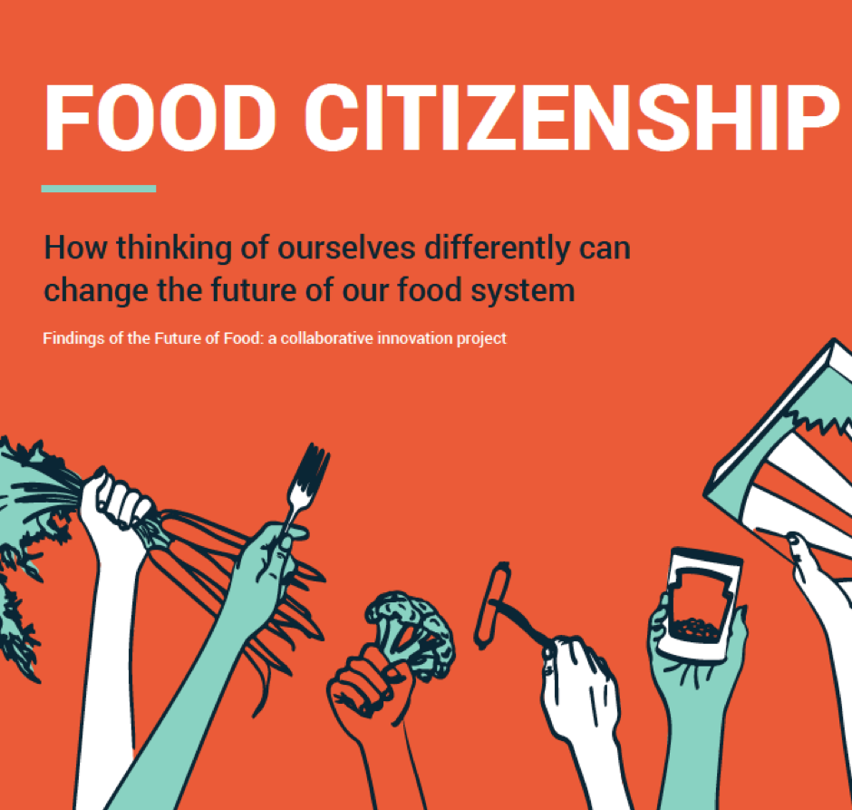 'What if we choose a different story to tell?' - The notion of food citizenship informed our approach to the Kitchen Table Talks and continues to guide our thinking and work.