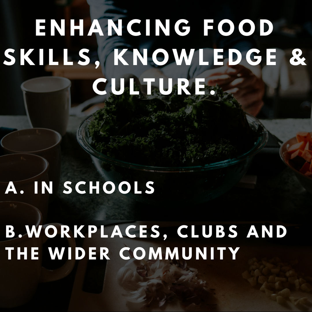 Actions include: - Developing a Community Kitchen Program with local branches of the Country Womens AssociationHealthy Education NetworkPakenham Community School FarmTargeted Community Awareness + Engagement Campaign
