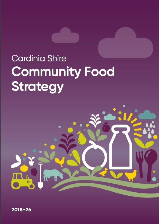 We are growing a healthy, delicious, sustainable and fair local food movement. - Together creating a vibrant and flourishing local food community in Cardinia Shire.#CardiniaFood #CardiniaFarms #LoveLocalFood #FoodSystems