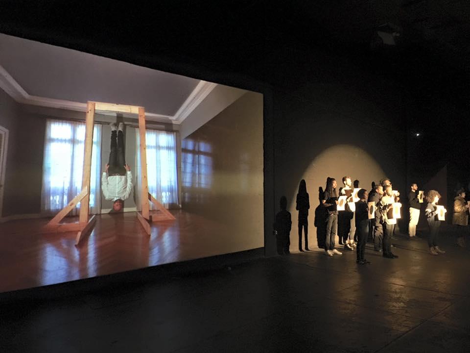 Exhibition at Court Square Studios  Photo credit: Francisco Bustamante