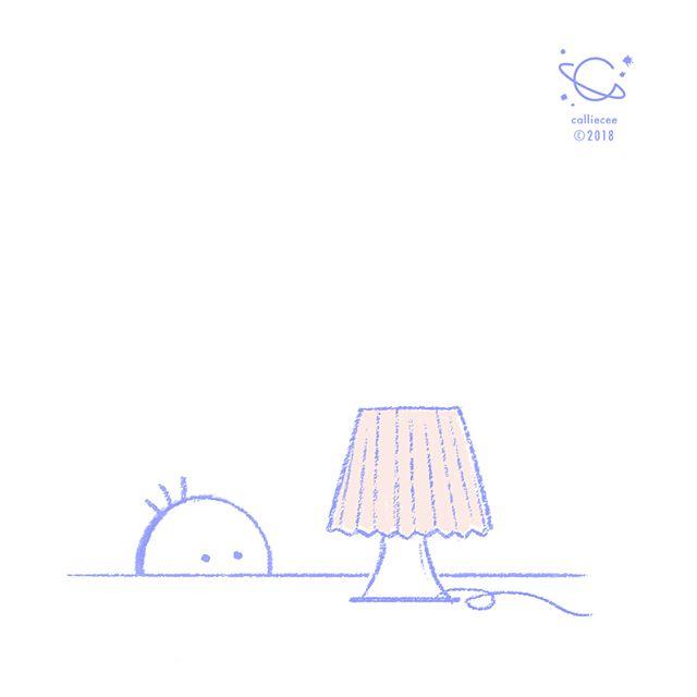Ben had a little lamp.  #curiousben