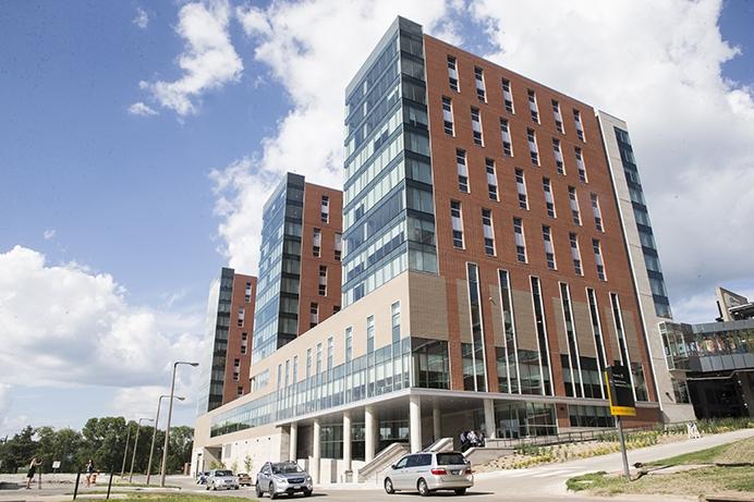 University of Iowa Elizabeth Catlett Residence Hall