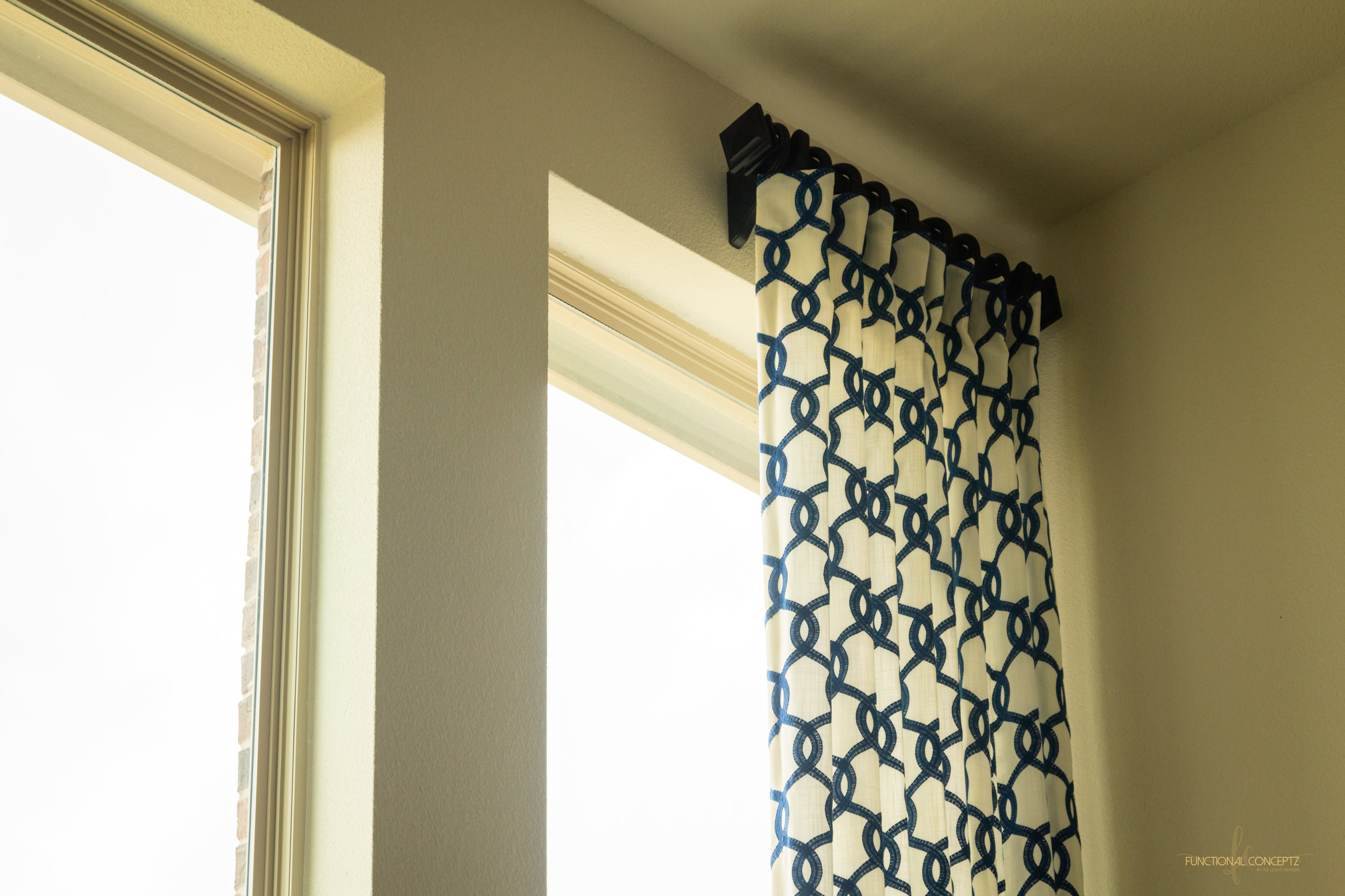Custom Window Treatments - Curtains and draperies will make or break your space. We review a wide selection of designs to choose one thats perfect for you.
