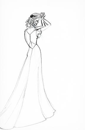 Sample Sketch Marker render. Note Wedding dress.Like the look? Ask about custom orders!