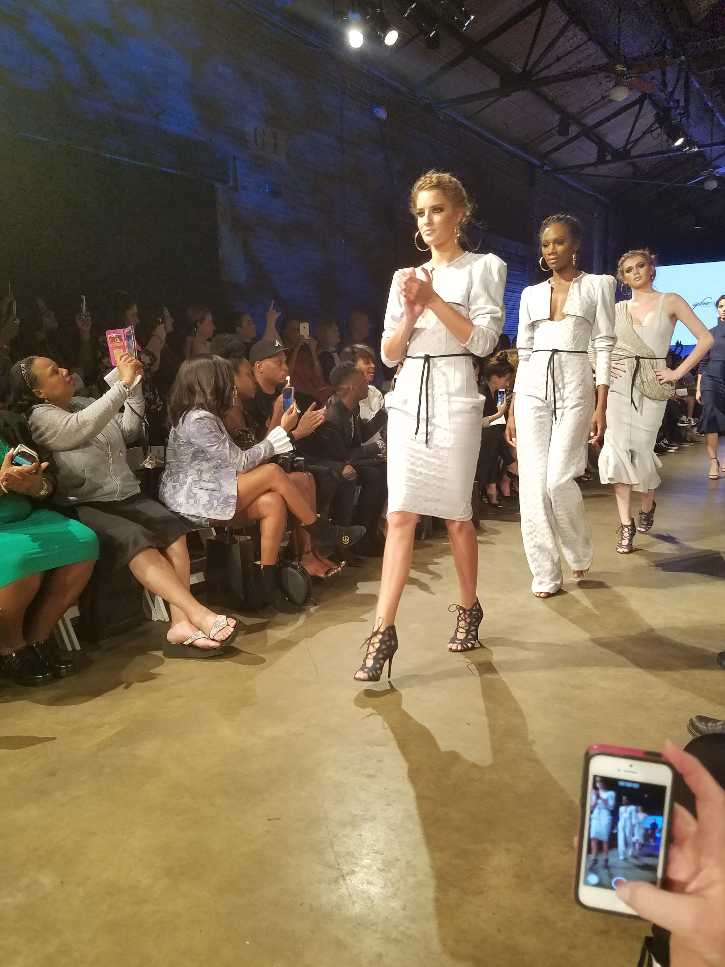 Snapshot from the Sylvia Mollie Show! I just loved all the sculpted shapes! Great Job!
