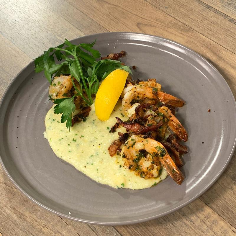 Shrimp + Cheesy Grits - WCSH's 207February 2019