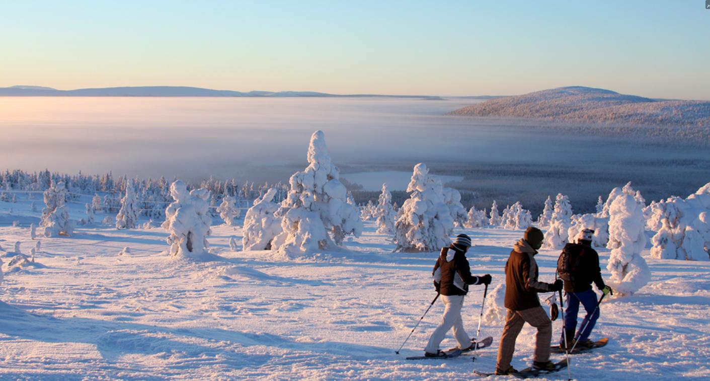 雪鞋徒步  雪鞋徒步是我们最受欢迎的活动之一。与我们一起来用简单有趣的方式来体验户外的冬天吧!   55欧元