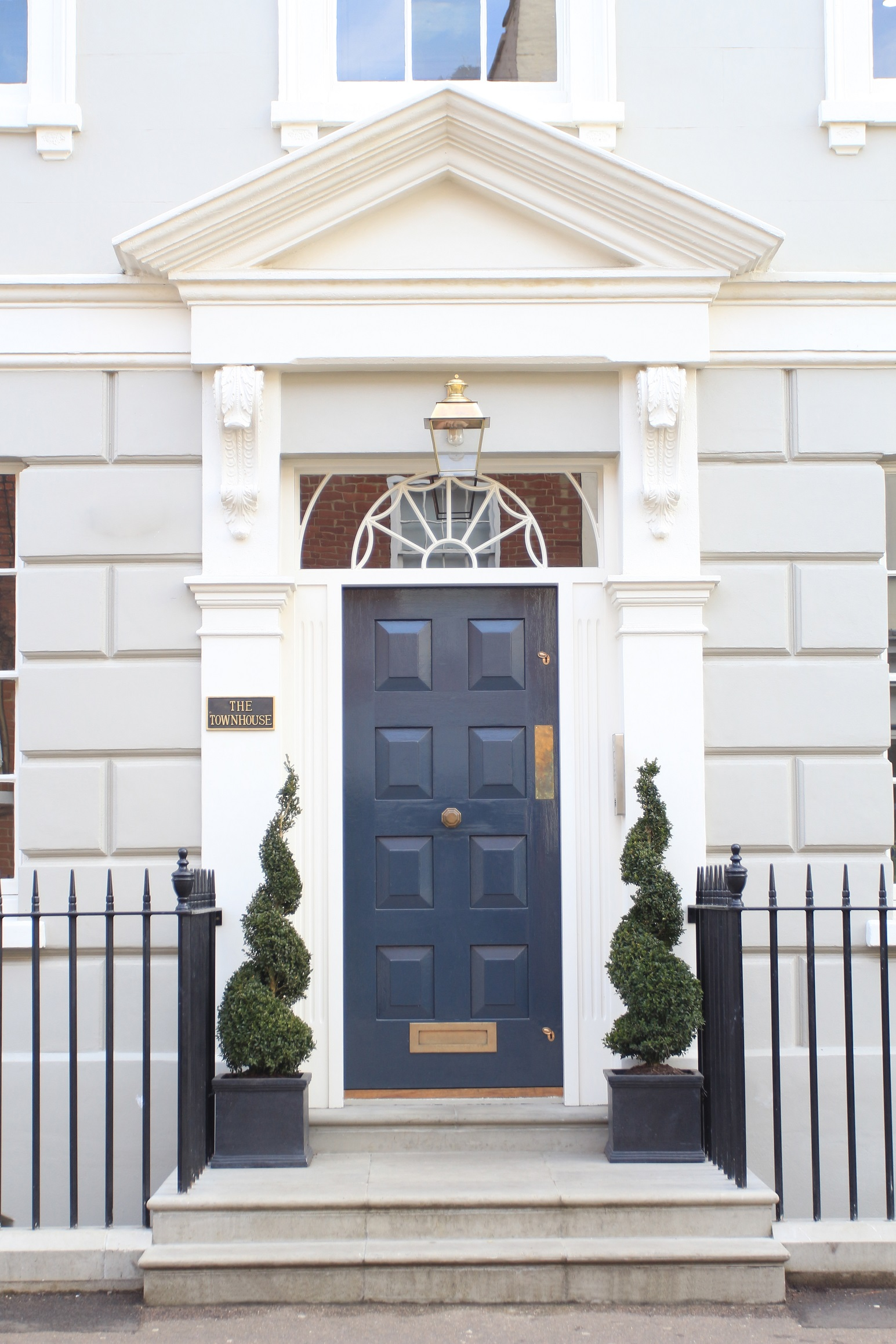 The Townhouse front door | Women in Trade Magazine HQ