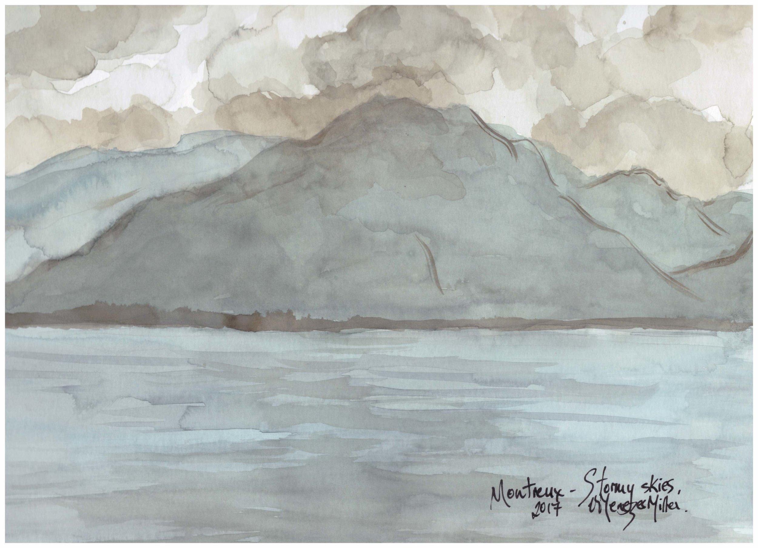 Montreux - Stormy skies