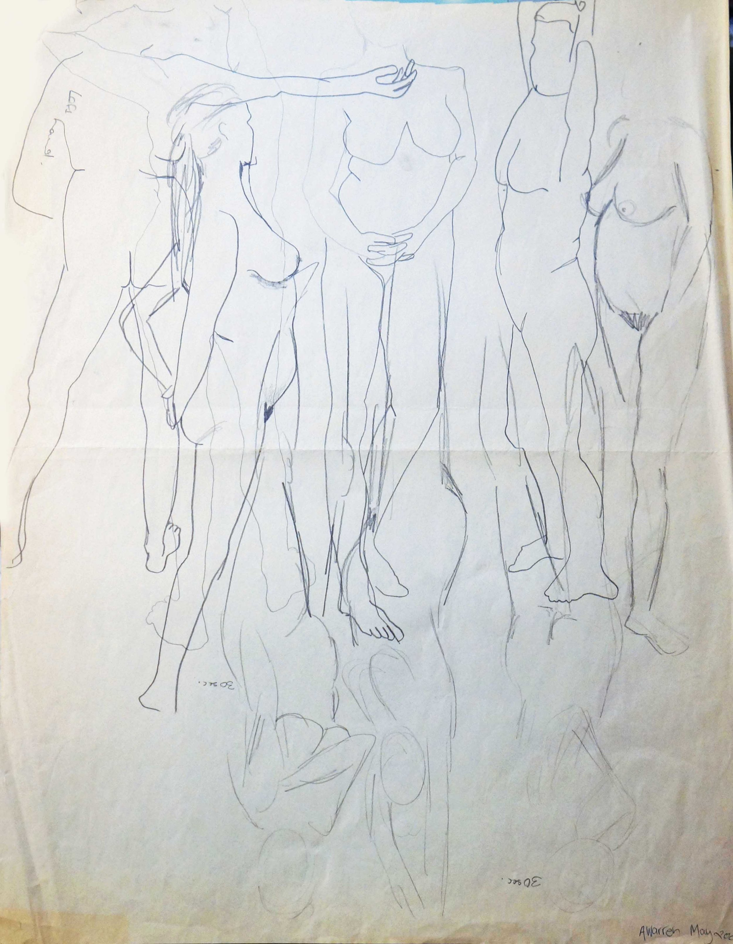 Anne Warren Life Drawing