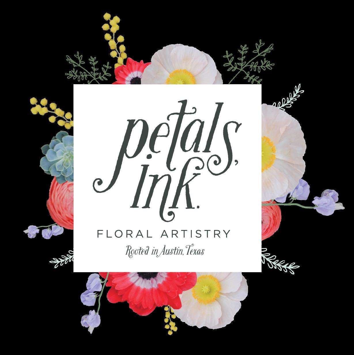 Petals Ink-Austin-flowers-florist-logo