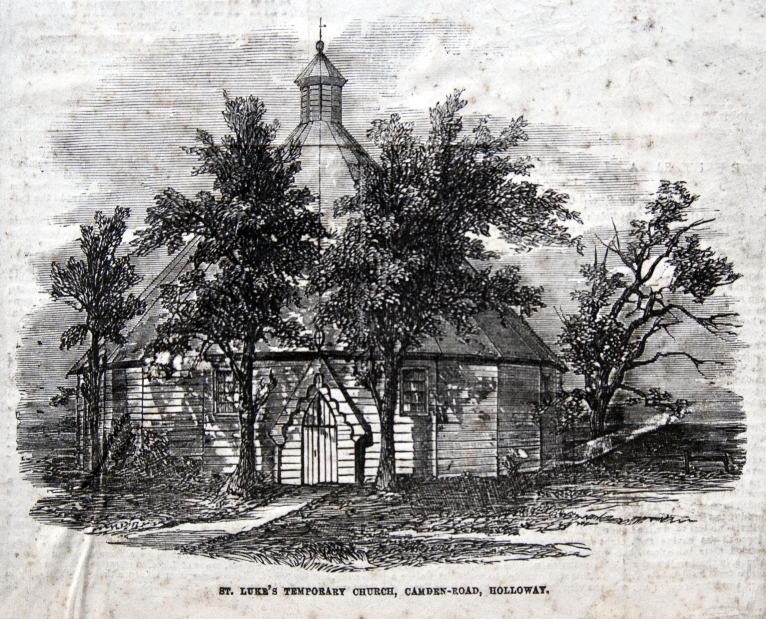 St. Luke's Temporary Church, Camden Road, Holloway.png