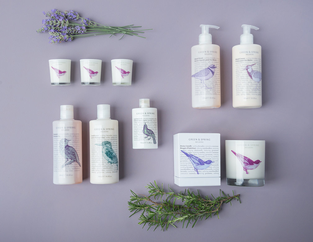Relaxing - Inspired by aromatic kitchen herbs, blending the soothing fragrance of lavender with the nurturing and restorative properties of comfrey and rosemary.Shop Relaxing Range