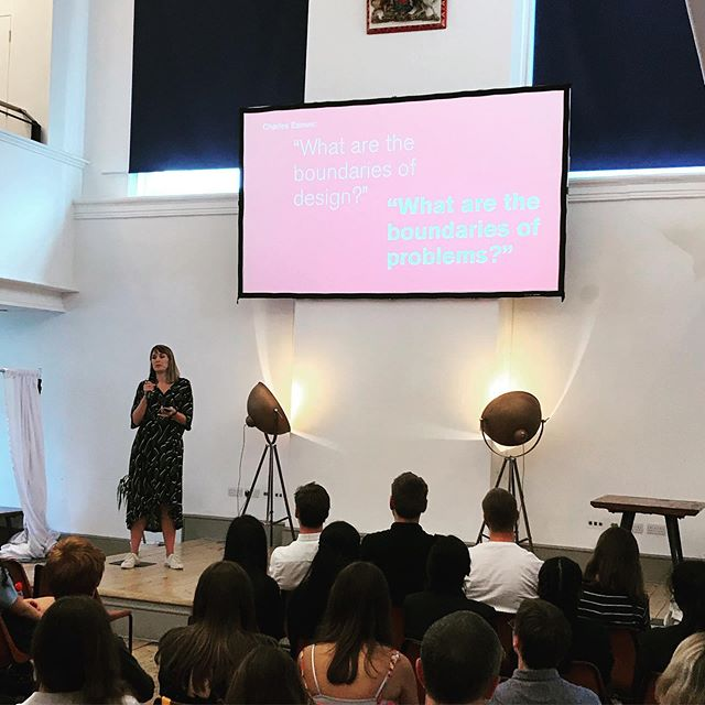 We had a great day speaking at the RSA's pupil design awards. Lots of incredible ideas from talented pupils from around the country. We also had the pleasure to create the awards which We will share very soon @thersaorg #RSA #innovation #material #potato #speaker #sustainability #eco #circulareconomy #design #make #awards
