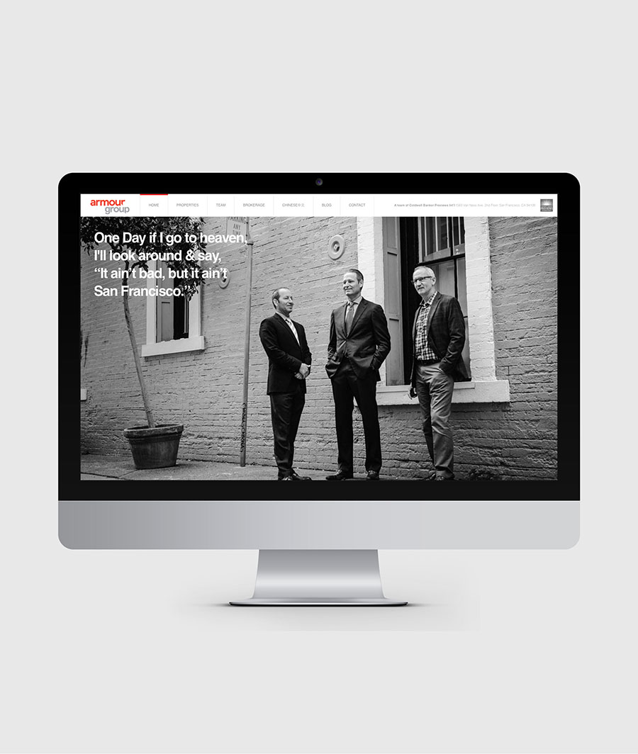 ARMOUR GROUP WEBSITE   + View Project