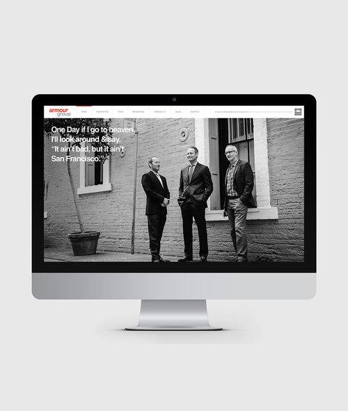 ARMOUR GROUP SF - Website