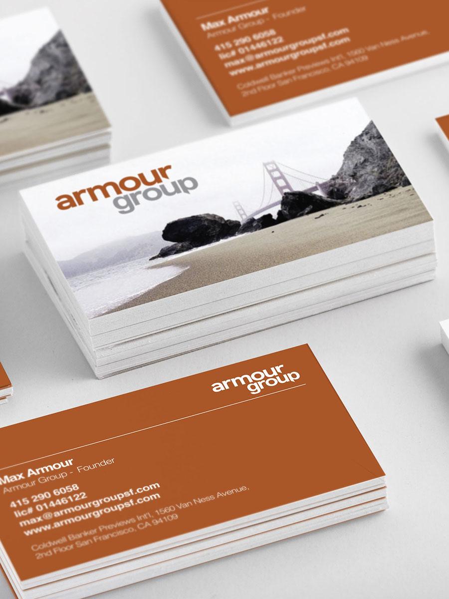 ARMOUR GROUP SF - Brand Identity