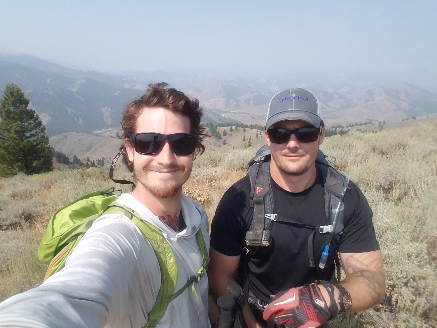 Curtis Johnson and Stephen Connell - prior Recon Marines of 2D Reconnaissance Battalion