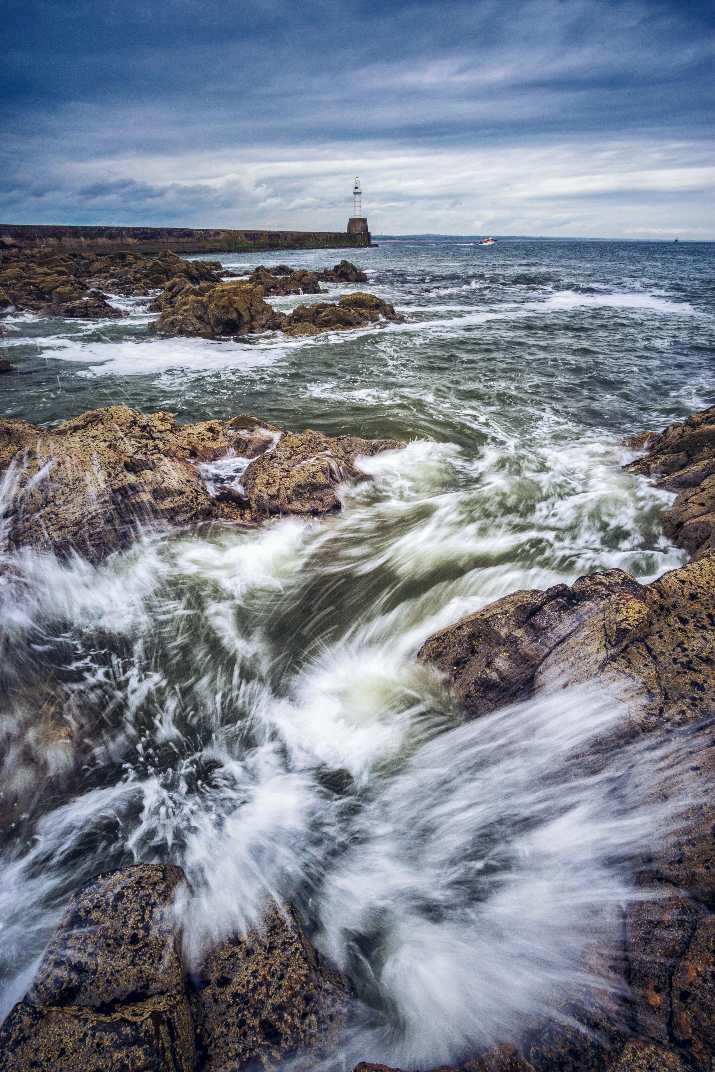 South Breakwater in Aberdeen