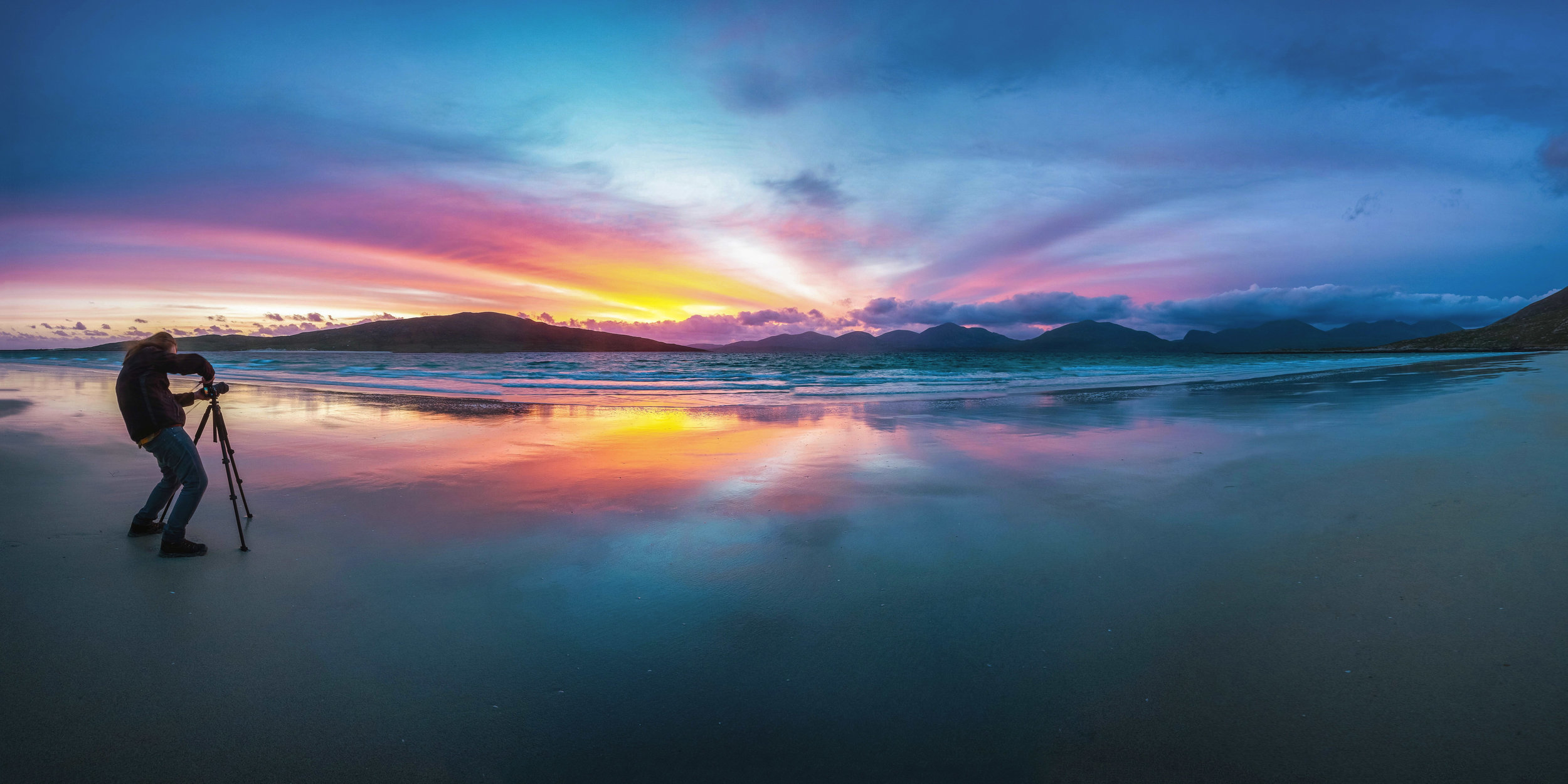 Sunset on the Isle of Harris