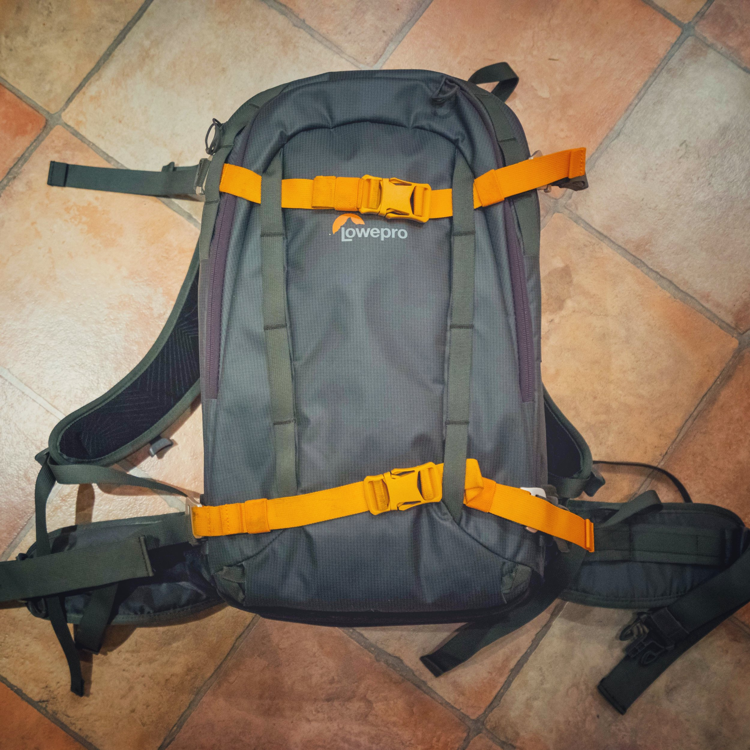 #1 The Backpack - This is a LowePro Whistler BP350.