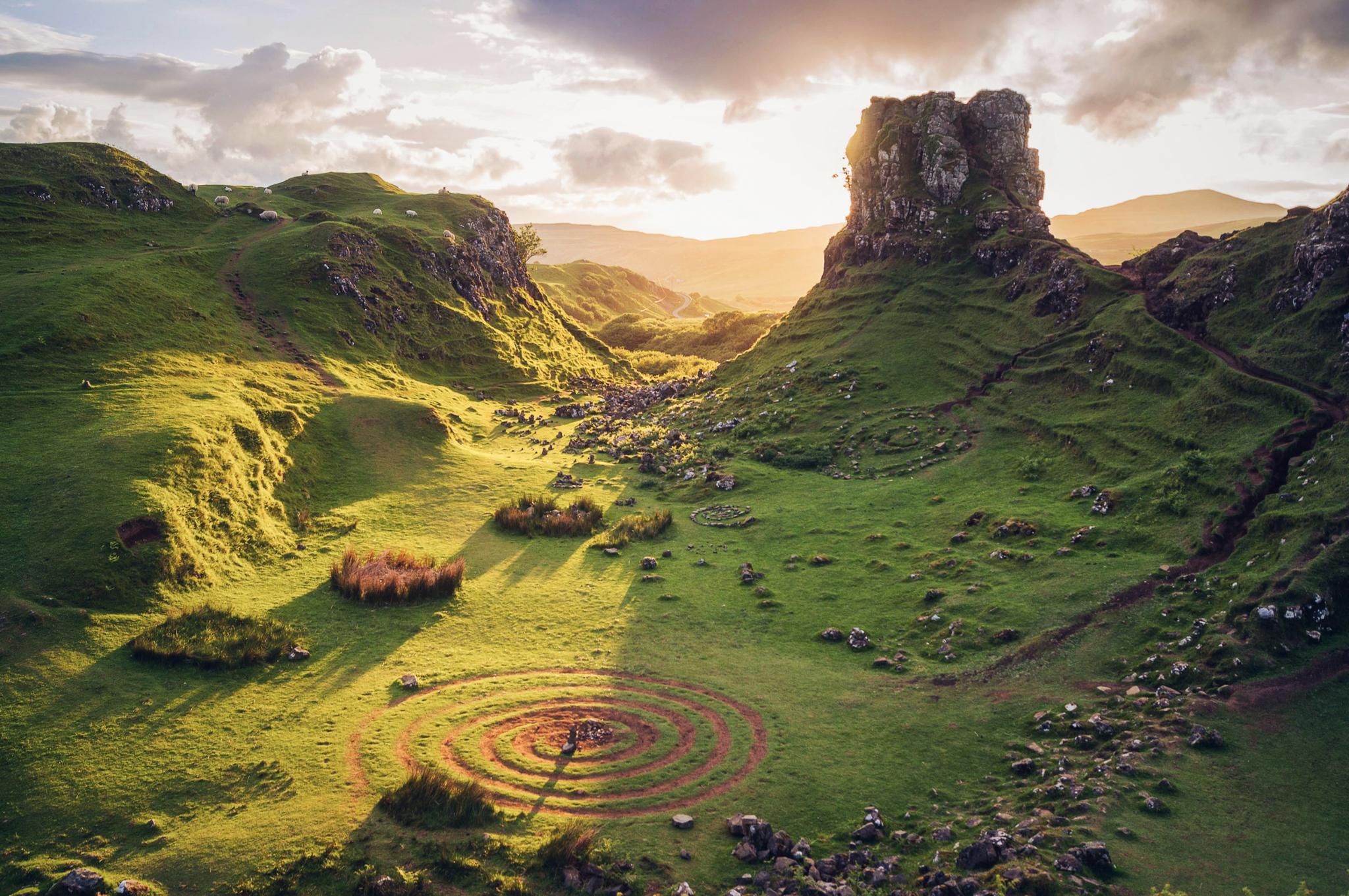 Fairy Glen - Scotland 2017