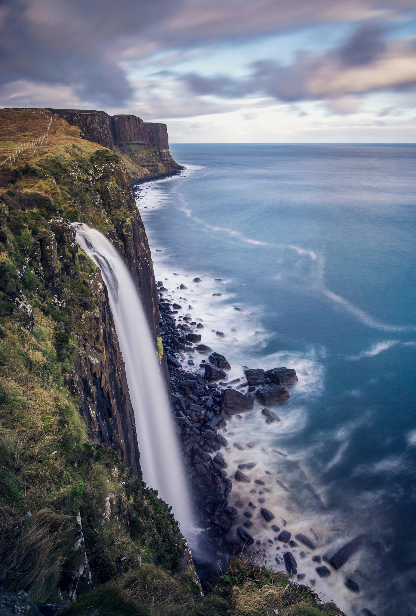 Mealt Falls - Isle of Skye - Scotland 2016