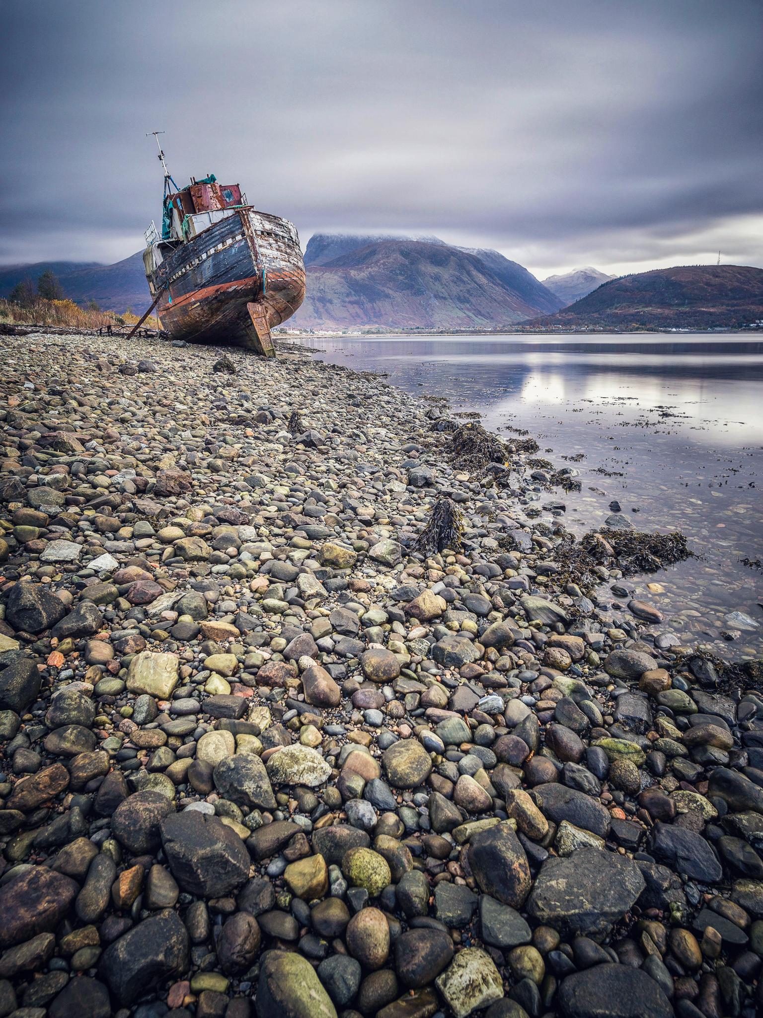 Shipwreck - Scotland 2016