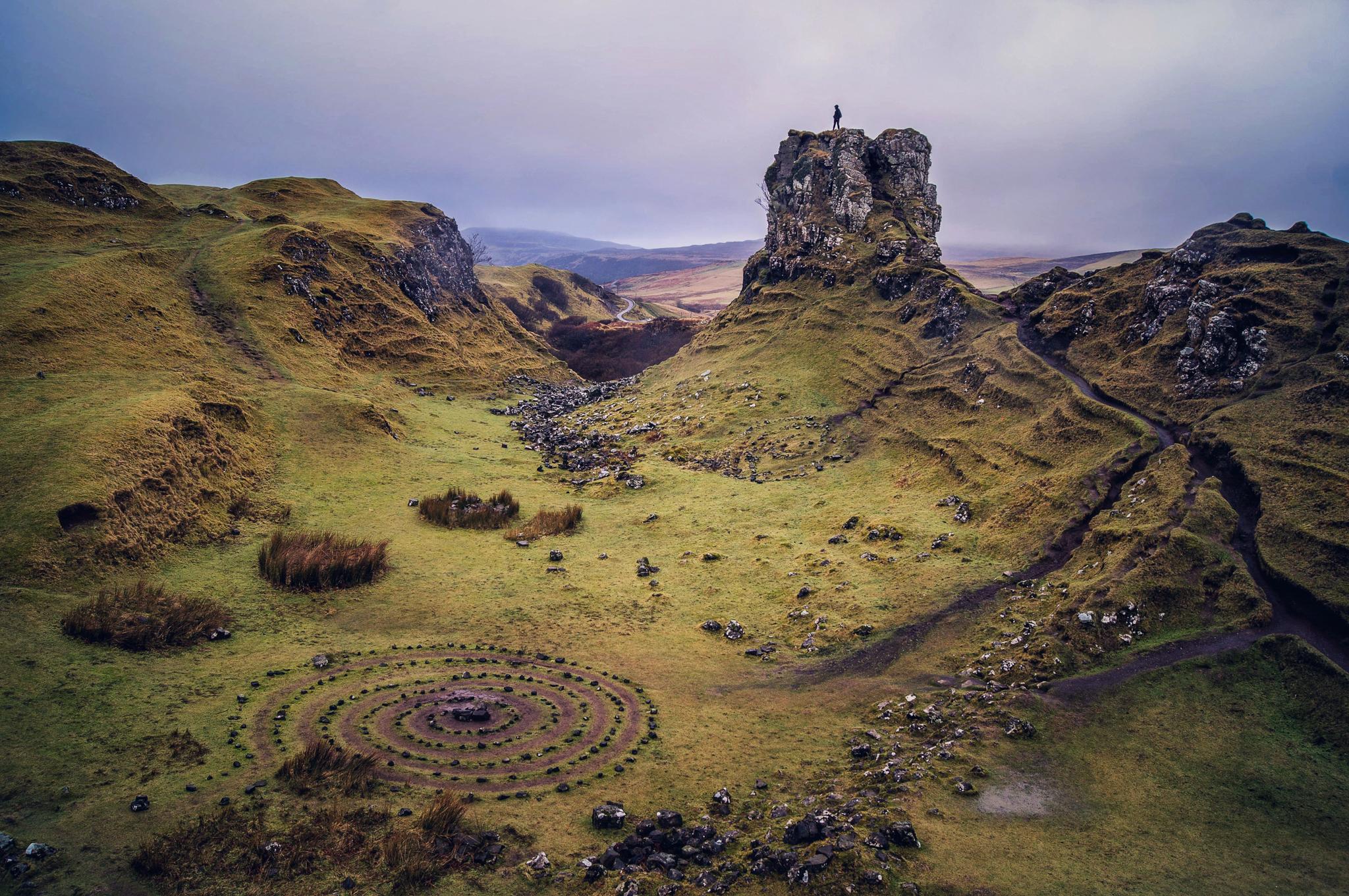 Fairy Glen - Isle of Skye - Scotland 2017