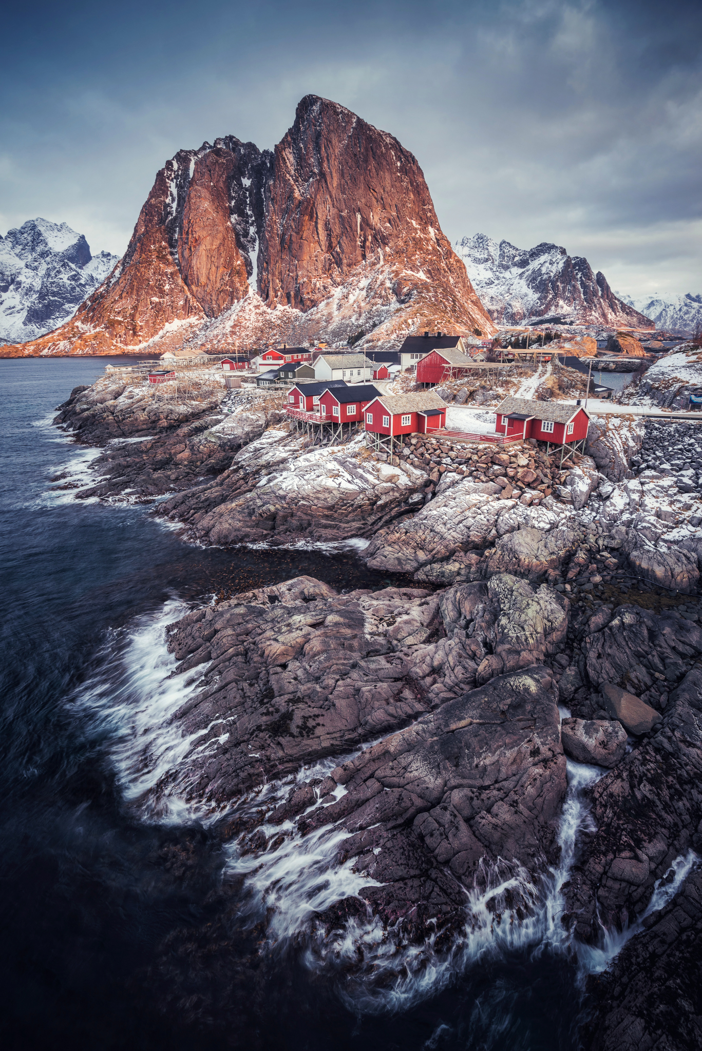 The red houses of Hamnoy - an iconic scene.