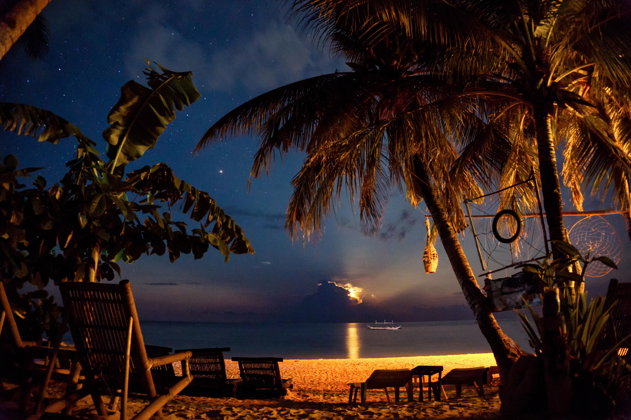 Moonrise in Boracay - Philippines 2016