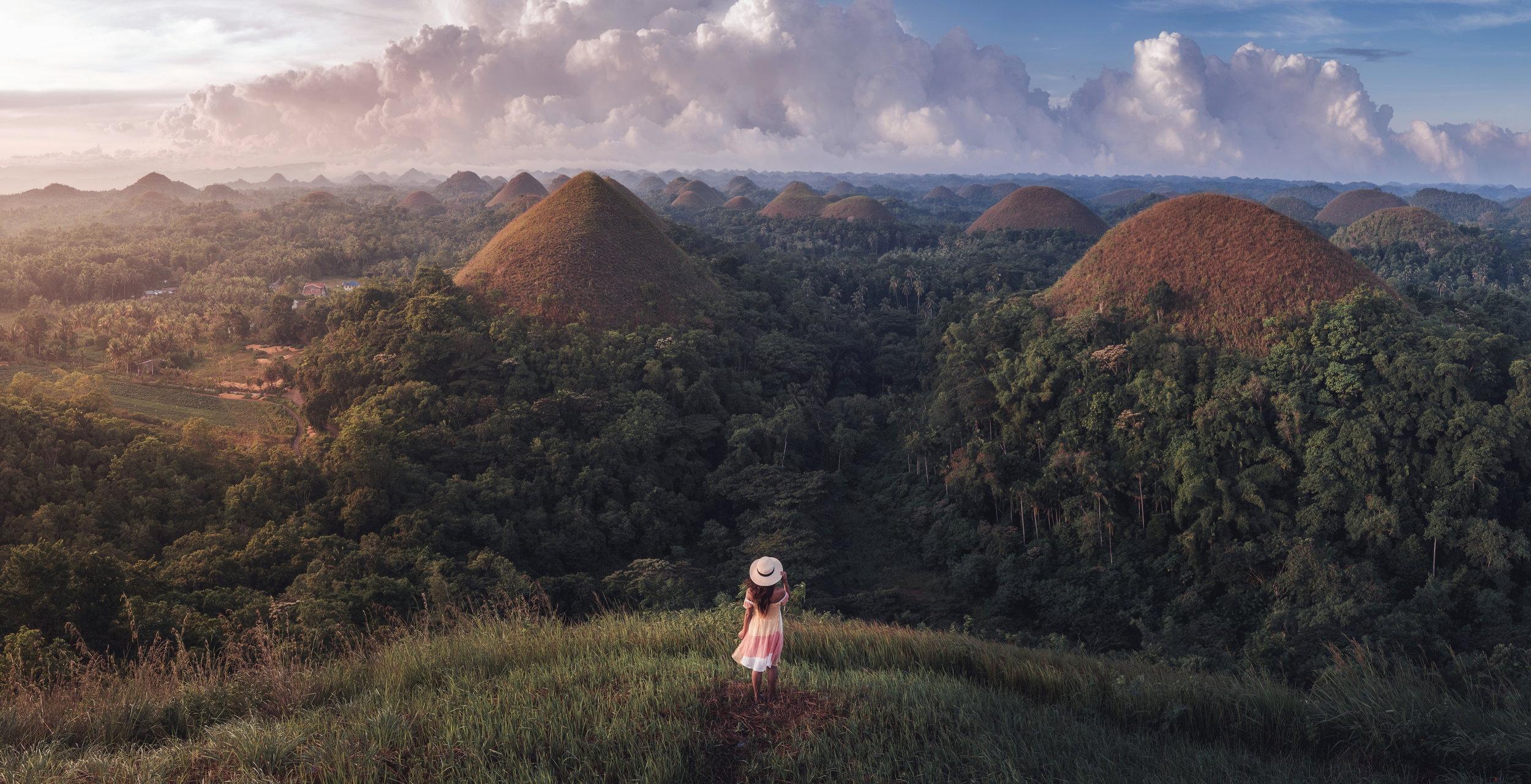 Chocolate Hills - Bohol - Philippines 2018