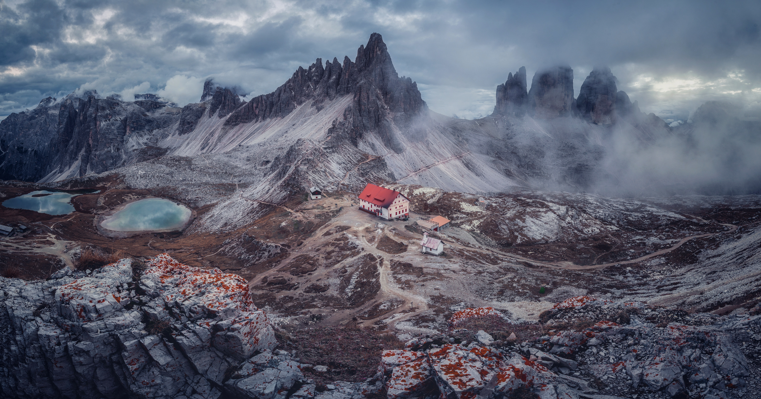 Tre Cime 180° - Dolomites 2019