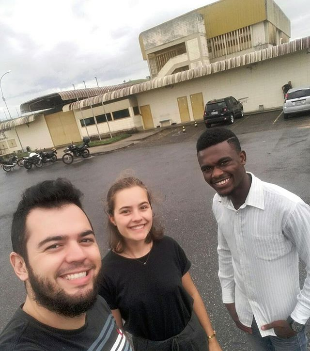 "Today was my first day in one of my projects, my project in Fundação Casa (youth prison). I was a bit nervous before going there: ""How will they like the program I have made?"" and ""How is it to work with youths in prison?"". It went out really well!! We played the Norwegian game ""HiHaHo"", were doing body percussion, singing and dancing traditional music from Malawi and answering questions about our countries and cultures. Really happy to finally have started up this project, and hopefully in some weeks we will have a presentation ready😎🎶 #jmntakeover #MOVE -Hannah, São José dos Campos"