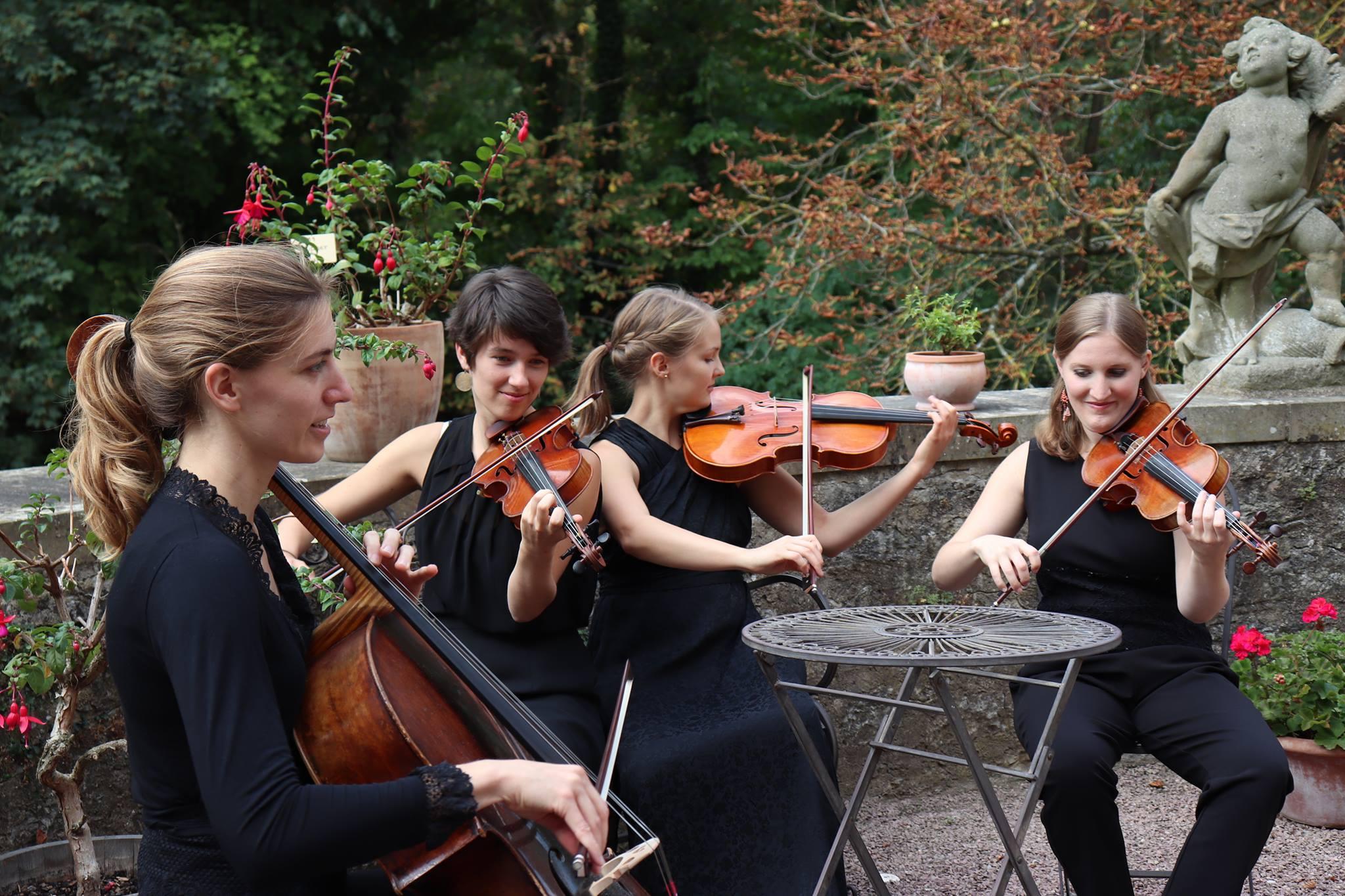 The Malion Quartett © Jeunesses Musicales Deutschland, Marlene Richert