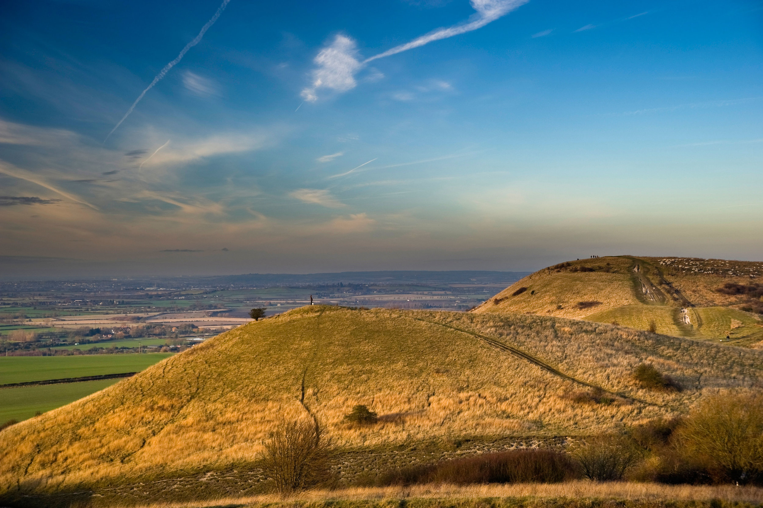 Ivinghoe Beacon at the end of The Ridgeway, (Steve Speller / Alamy Stock Photo*)