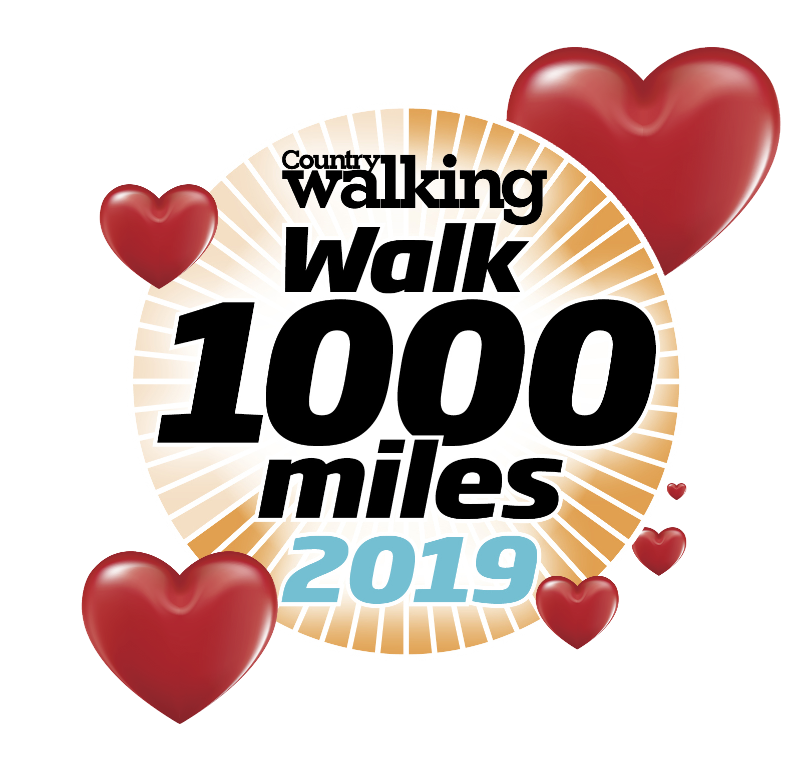 Walk 1000 miles logo 2019 with hearts.png