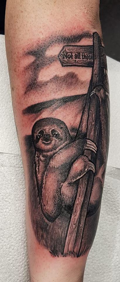 Neil Macfarlane's  sloth...