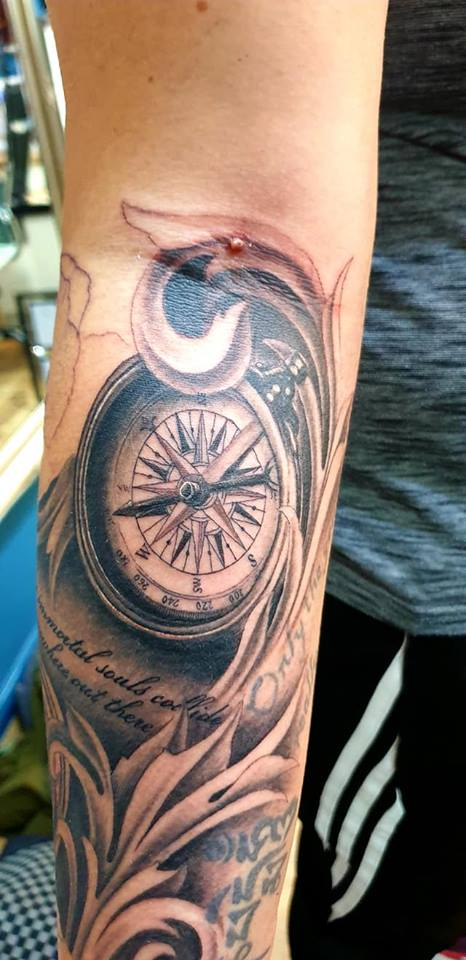 Tasha Leigh-Willetts' compass.