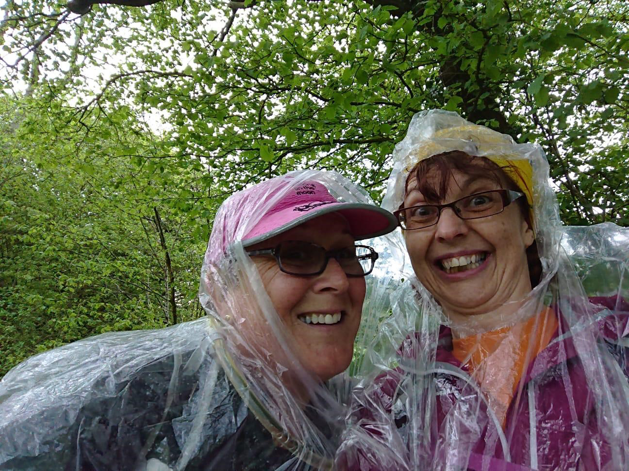 Jane and Julie share a selfie