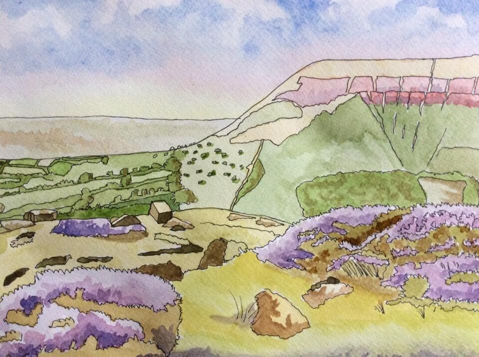 Mynydd Troed, viewed from Mynydd Llangorse (in the Brecon Beacons) Mark Kent
