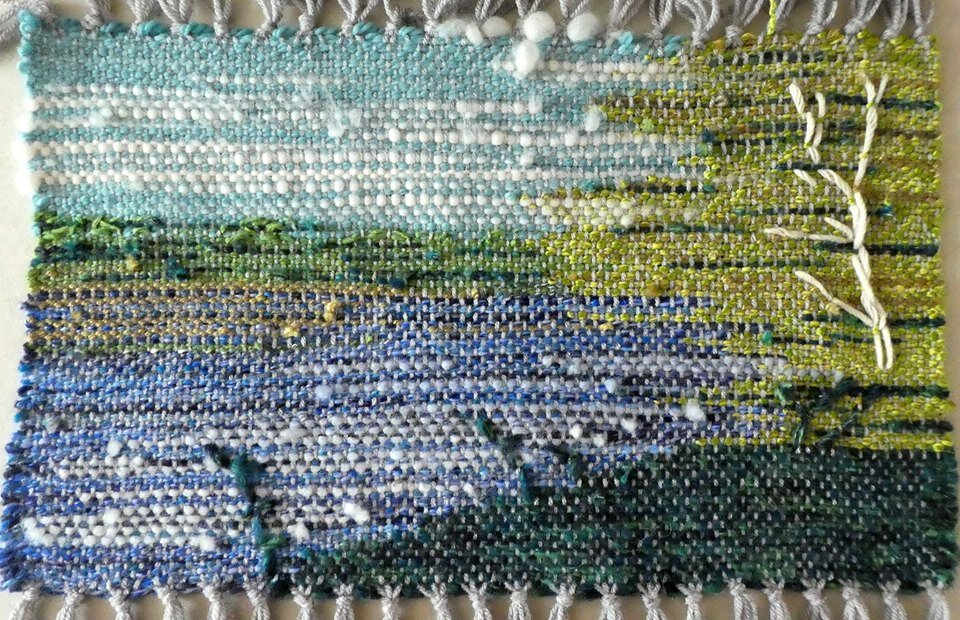 … and woven in wool by Jane Clelland