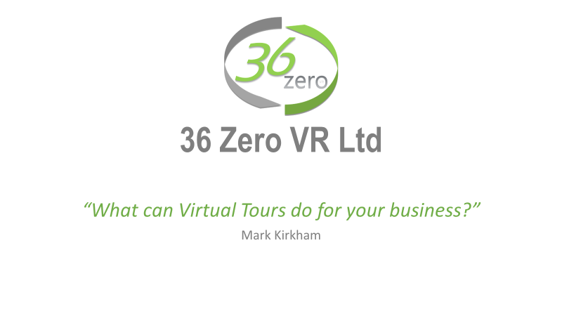 Introduction - Thank you for inviting me along to your meeting and for the opportunity to discuss the benefits of virtual tours for your business.
