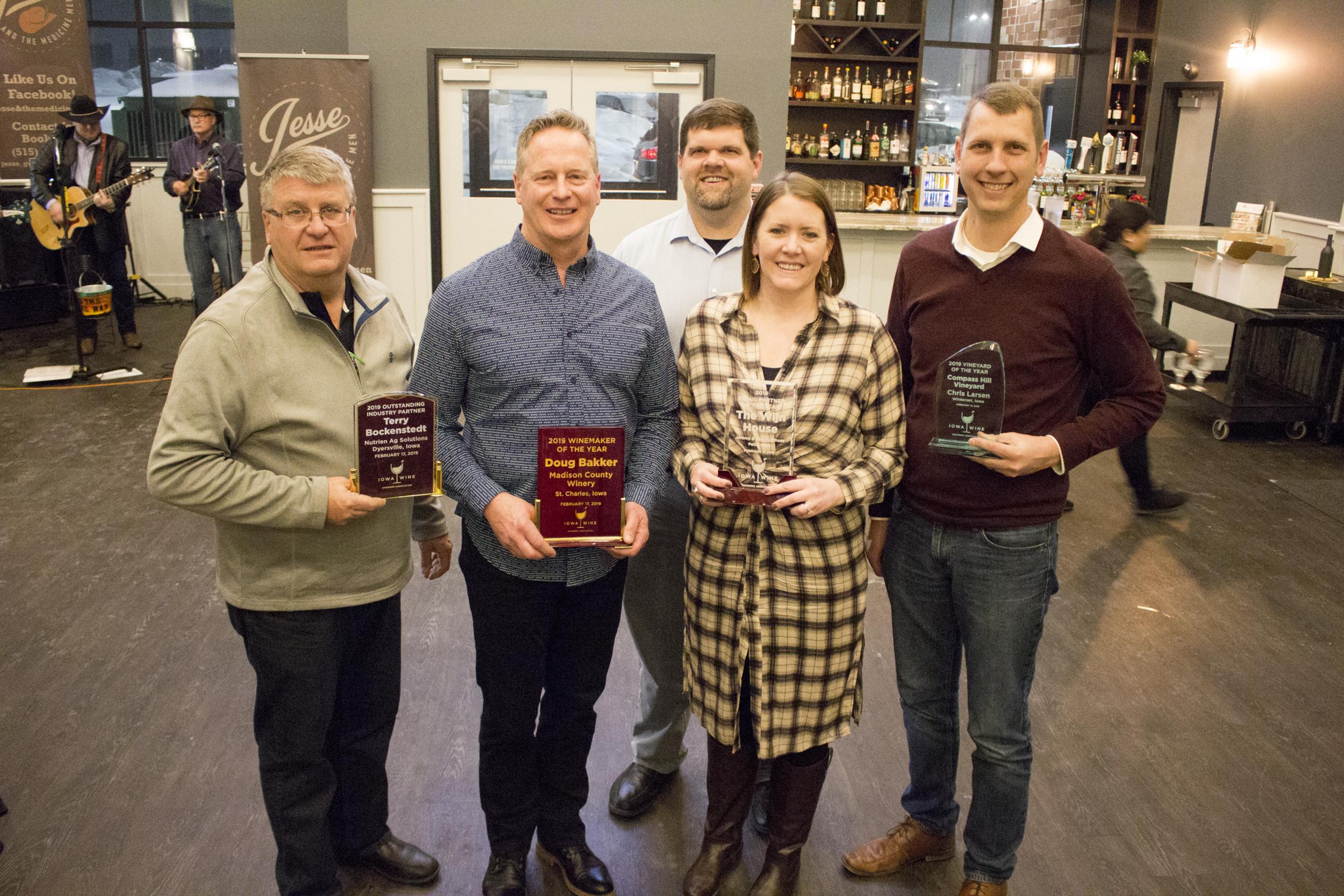 2019 Iowa Wine Award Recipients