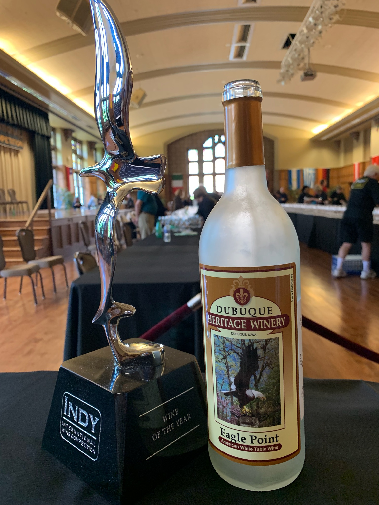 Iowa wine named Wine of the Year at 2019 Indy International Wine Competition. Submitted photo, Anne Zwink.