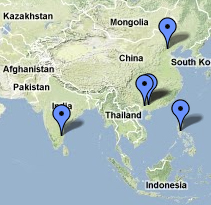 World Wide Hearing and its partners work across the globe.  See the map of our projects