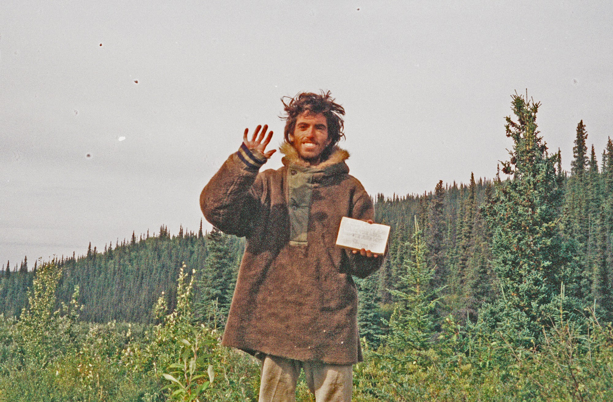 Chris McCandless' last photo. Courtesy of the Christopher McCandless Foundation.